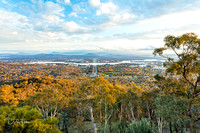 Late Afternoon View of Canberra