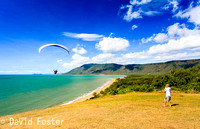 Paragliding, Rex Lookout, Tropical North Queensland