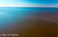 Water in Lake Eyre, Outback South Australia