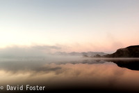 Misty Morning on Lake Pedder
