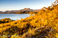 Mount Wedge at Sunset, Lake Pedder