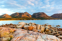 Sunset on The Hazards, Freycinet
